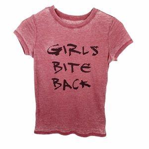 "Adam Levine ""Girls Bite Back"" Burnout T shirt XS"